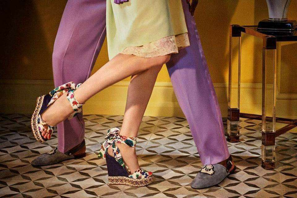 eaa7c8b5fce ... Quest Christian Louboutin Spring Summer 2018 collection of bags and  shoes at The Loft