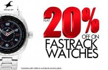 Get Flat 20% off on Fastrack Watches until 18 November 2012 in Kolkata, Calcutta