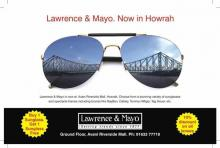 Buy 1 Sunglass, Get 1 Sunglass Free deal and 10 % discount on all lenses at Lawrence & Mayo, Avani Riverside Mall, Howrah. Choose from a stunning variety of sunglasses and spectacle frames including brands like RayBan, Oakley, Tommy Hilfiger, Tag Heur, etc.