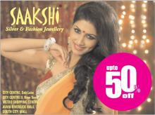 Saakshi Jewellery Sale Upto 50% off. Happy Shopping.