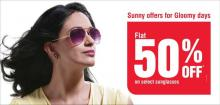 Flat 50% off on select Sunglasses at Vision Express Outlets across India
