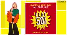 Will you be a part of Kolkata's Biggest Forever 21 Sale?!  South City Mall