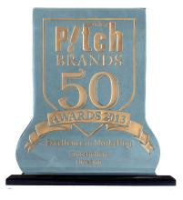 HIDESIGN awarded with the Pitch Brands 50 Awards in the Globetrotter's category