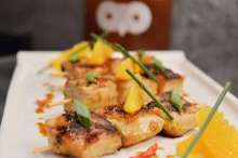 White Owl Brewery's Culinary Collaboration with Maria Goretti- Zesty Sea Bass Skewers