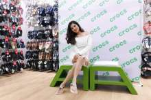 Bengali Diva 'Payel Sarkar' launches Crocs India's new store in Ballygunge, Kolkata