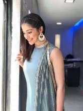Ravishing Laxmi Rai in Jewelleryby MiRA byRadhikaJainfor her movie promotion.